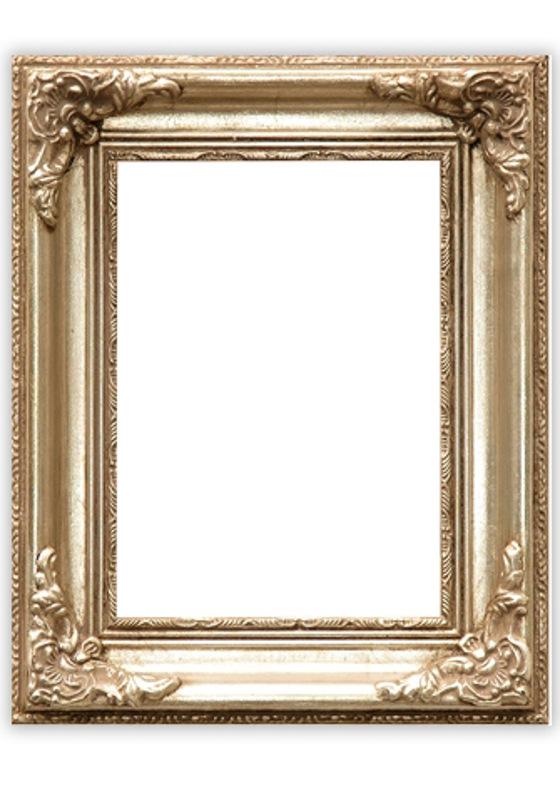 Barok Lijst Op Maat.Fotolijst Brussel Zilveren Barok Lijst