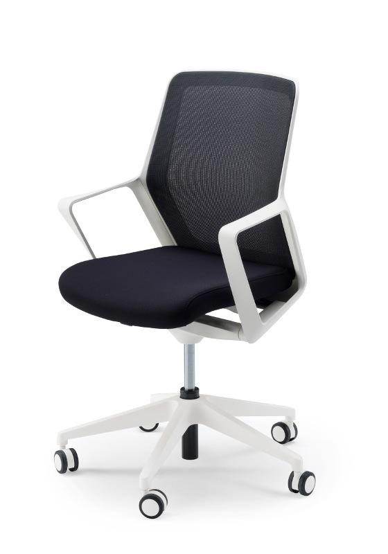 Design Bureaustoel Wit.Bureaustoelen Bureaustoel S6 Wit Cube Design